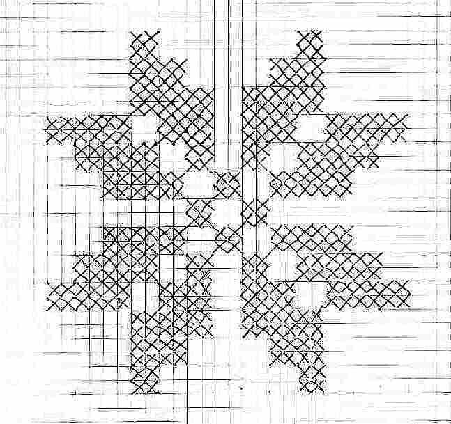 Schemi Punto Croce A Tema Floreale Ricami Per Natale Gratis Idee